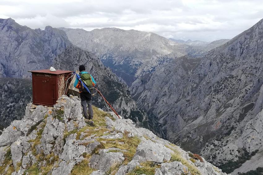 trekking desfiladero