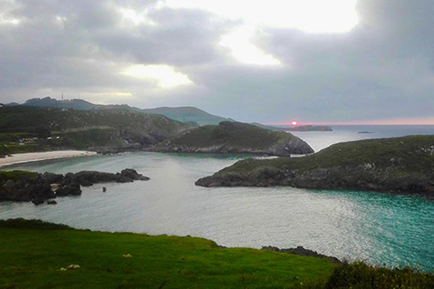 senda costera Asturias