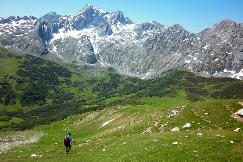 trekking peña ubiña