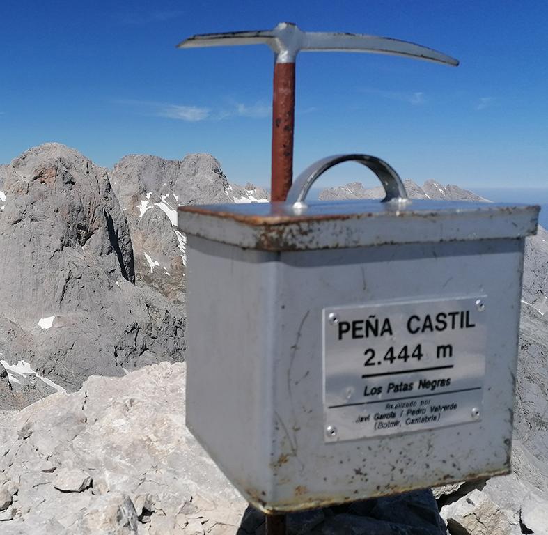 CIMA PEÑA CASTIL